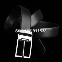 10pcs/lot Casual strap genuine leather Men belt fashion trend pin buckle cowhide male waist of trousers belt pidai #Q251