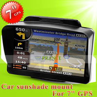 "Plastic Car Sunshade Shield GPS Holder stand for 7"" GPS Navigator MP4"