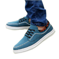 2013 new  men causal shoes Men Fashion Sneakers Sport Shoes dull polish  breathable male shoes Free Shipping  size 39-44 XMR018