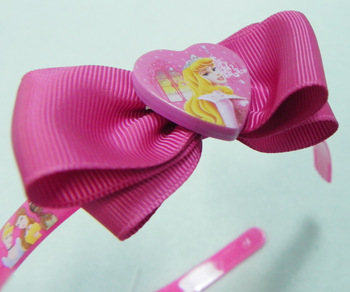 Fashion  Kids /Children plastic hair clips  Side bow Hair bands Cute beautiful princess  style Headwear  gifts for girls