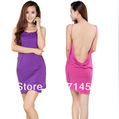2013 hot Sexy woman fabric cotton breathable bath towel sleepwear bath robe gown dress bathrobe nightgown  ,Free Size 2pc/lot