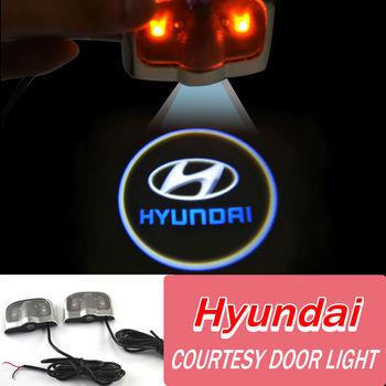 Двери автомобиля свет с логотипом / любезно дверь свет для Hyundai VERNA / I30 / elantra бесплатная доставка
