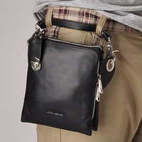 Freeshipping Teemzone2013 Men's bag 100% Guaranteed Genuine leather waist pack /Clutch bag/handbag