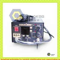 Two in one KNOKOO 952D+ BGA digital soldering and rework station 600W high power,A1130 desoldering nozzle,900M-T-B tips