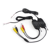 2.4 G Wireless Car Rear View Back UP Reverse RCA Video Transmitter Receiver for Car Backup Camera and LCD Monitor