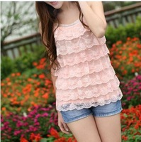 Cotton Polyester  2013 New Summer Tanks & Camis Fashion style lowest price Free shipping