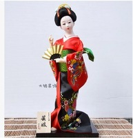 Free Shipping Personalized birthday gift japanese style doll geisha 12