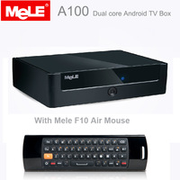 {Free F10 Air mouse} Mele A100 Allwinner A20 Dual core Android tv box 1GB/4GB Android 4.2 TV Box with VGA Port +HDMI Cable