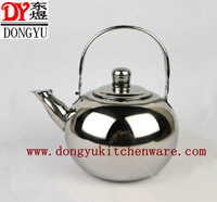 Wholesale 1.5L  Cute Whistling Teapot with High Quality Stainless Steel , wihout Strainer