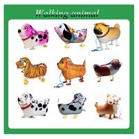 hot selling! 90pcs/lot My own walking animal balloon Helium walking pet balloon Free shipping