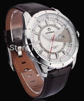 2015 Sale Limited Casima Brand Mens Quartz Watches Japan Movement Waterproof 100m Genuine Leather Strap Date Calendar Men Casual