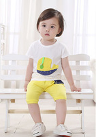 New 2014 autumn -summer Spotted dog baby clothing set children outwear kids outfits boy girls clothes hoodies sport suits
