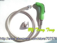 Free Shipping Handheld / Portable bidet  Diaper Sprayer Shattaf TS078L-SET Shattaf head+Braided hose+wall bracket+fitting parts