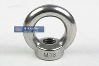 Free Shipping Wholesale Rigging Hardware M10 DIN582 Metric Thread Stainless Steel 304 Lifting Eye Nut