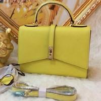 2015 new  brand name H handbag  Epsom pattern women bags  Women Genuine Leather Brand Cowhide Leather Handbag