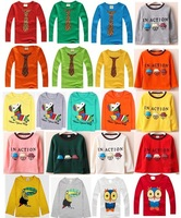 2013 New HOT Multicolor Children's T-shirt Baby boy girl's long sleeves T shirts Child Children's Clothing Retail free shipping