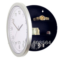 Novelty Creative Design Hidden Safe Wall Clock Mystery Home Decor Clock