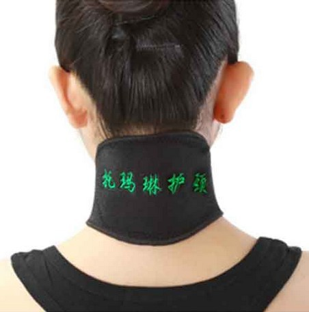 2pcs Neck Massager Brace Support Tourmaline Far Infrared Ray Heat Strap Relief Pain(China (Mainland))