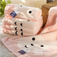 Free Shipping Baby 100% Cotton Face Towels Hand Towels Salon Towels Novelty Households 60x30cm Wholesale HT201320