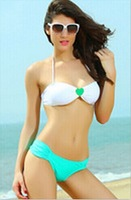 2013 new explosion models women bikini swimsuit sexy sexy love heart Bra bikini swimsuit Free Shipping DST-222