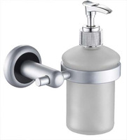 Free Shipping Space Aluminum Wall-mounted Bathroom Soap Dispenser Hand Sanitizer Bottle