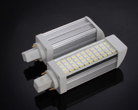 Hot sale PL led corn light bulb  9W,led PLC light lamp 5050 44leds G24  5w 7w 8w 9w 10w 13w downlight DHL Free shipping