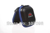 Free Shipping OKCSC High Quality Carbon Fiber Earphone SD Card Carry Bag Storage Box