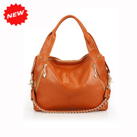 2014 New Arrival High Quality Women Handbag,First Layer Genuine Leather Chain Shoulder Tote Messenger Multifunction Bags,Q0319