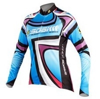 LANCE SOBIKE  Ballad Women Summer Long Sleeve Cycling Jerseys,Cycling Clothes,Lady's Cycling Clothing,Cycling Sportswear