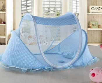 Baby mosquito net belt mount baby bed mosquito net yurt baby mosquito net child mosquito net folding carry