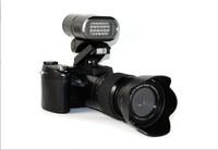 Free shipping LED headlamps threw three lenses 21 optical 16 million SLR Digital Camera