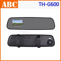 2014 Car DVR TH-G600 HD rear view mirror recorder 1920x1080p 5MP Camera video registrator dash camcorder support TF card Russia