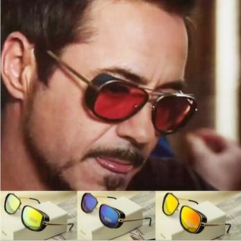 2014 IRON MAN 3 Matsuda RAY TONY Sunglasses Men Mirrored Brand Glasses Vintage Sports Cycling Sun glasses Men Sports Retro Gafas
