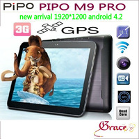 "in stock m9 pro wifi ,Pipo M9 Pro 3G RK3188 Quad Core Tablet  2g 32g 10.1"" IPS II Screen 1920*1200 gps wifi"