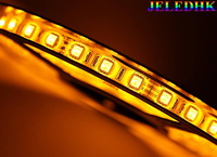 Flexible LED Strip  5050SMD 300pcs(60pcs/m) IP65 Waterproof(Glue) Yelow -5 meters