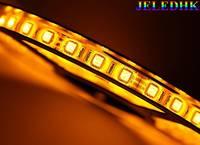 Flexible LED Strip  5050SMD 300pcs(60pcs/m) IP65 Waterproof(Glue) Yelow -5 meters