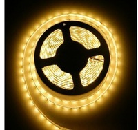 60led per meter Flexible LED Strip  5050SMD 300pcs  IP65 Waterproof(Glue) Warm White -5 meters