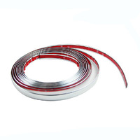 Auto Body chrome trim / window moldings / bumper bright strip 8mm*12m Wide Genuine 3M car sticker