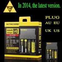New Nitecore i4 Intellicharge Universal Battery Charger RCR123A 26650 18650 AA/AAA Free Shipping