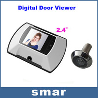 "Free shipping! 2.4"" LCD Screen Monitor Digital Door Viewer with Photo Digital Camera"