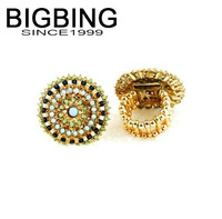 BigBing Fashion small jewelry inlaying alloy ring fashion flower ring free shipping T830
