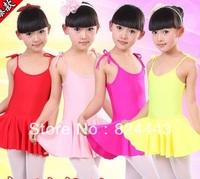 2014 Spring New Arrival Children Girls Candy Colorful Tutu Dress Dance Costume Ballet Skirt Girls Leotard Dress
