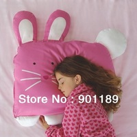 New arrival retail baby pillow top quality 100%cotton soft Pet appearance Kid sleeping pillow Children sleeping toy freeshiping