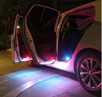 Hight quality Led door warning light with shell for VW Golf 6 GTI JETTA MK5 MK6 CC Tiguan Passat B6,4pcs/set