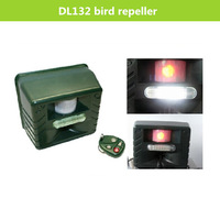 DL132 Powerful ultrasonic bird repeller/electronic bird  repeller/sloar bird repellent