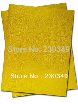 Free shipping African head tie,Head Gear, Sego Gele&Ipele,Head Tie & Wrapper, 2pcs/set Item No.HT0361 YELLOW