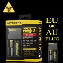 Nitecore Intellicharger i2 16340 CR123A 10440 AA AAA 14500 18650 26650, 22650, 17670,Li-ion/NiMH  Universal Battery Charger(China (Mainland))