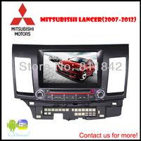 "car special dvd / 8"" Car DVD GPS For Mitsubishi Lancer EX"