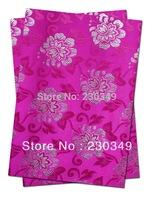 Free shipping African headtie,Head Gear, Sego Gele&Ipele,Head Tie & Wrapper, 2pcs/set ,Color. FUSHIA.