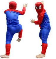 Wholesale Fantasy Spider Man Cosplay Costumes Suit  For Children Boys Halloween Spiderman Costume Kids